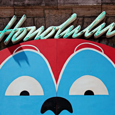 Honolulu Monkey