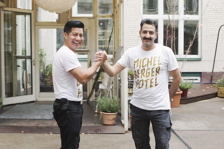 Pedro and Beretin