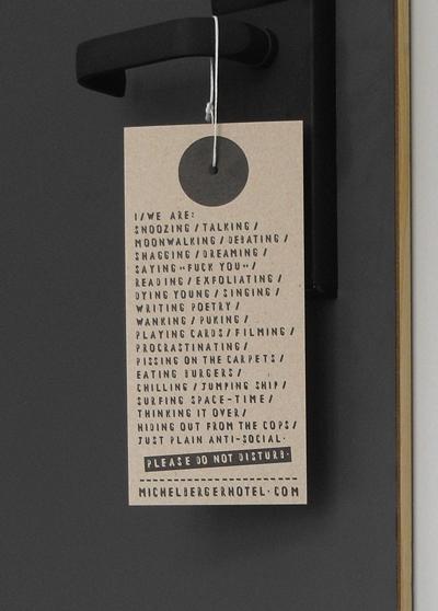 do not disturb michelberger blog. Black Bedroom Furniture Sets. Home Design Ideas