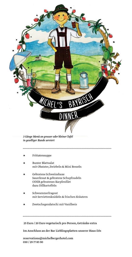Michel's Bayrisch Dinner